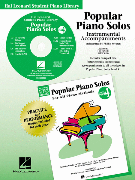 Popular Piano Solos - Level 4 - CD