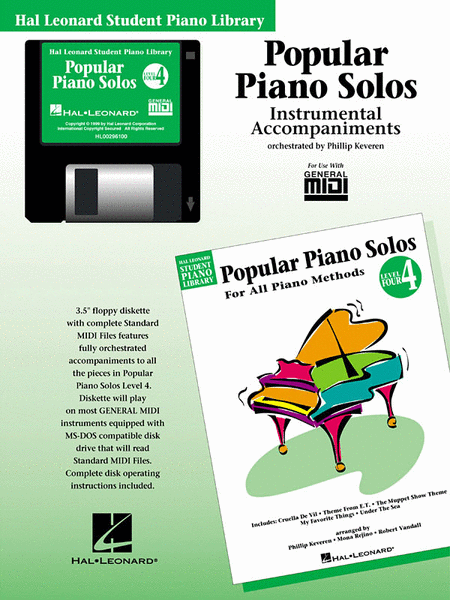 Popular Piano Solos - Level 4 - GM Disk