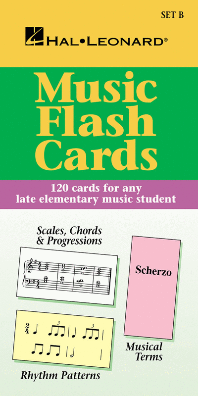 International Flash Cards Set B (Hal Leonard Student Piano Library International)