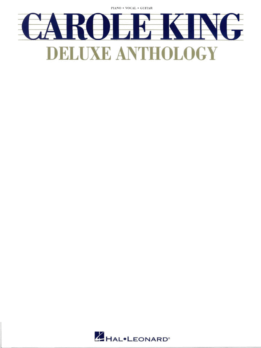 Carole King Deluxe Anthology