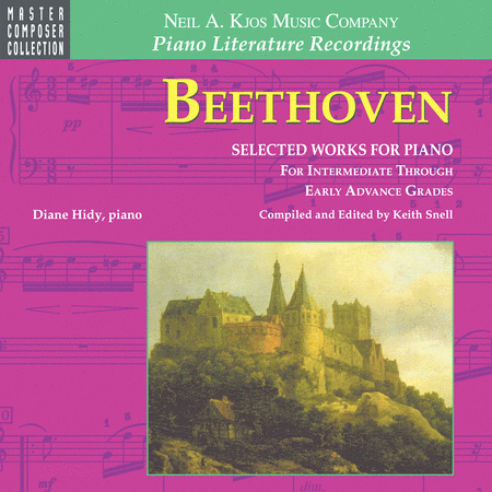 Beethoven Selected Works For Piano (CD)