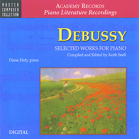Debussy Selected Works For Piano (CD)