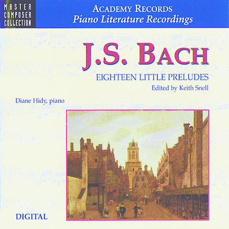 Bach - Eighteen Little Preludes (CD)