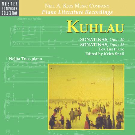 Kuhlau - Sonatinas, Opus 20 & Opus 55 (CD)