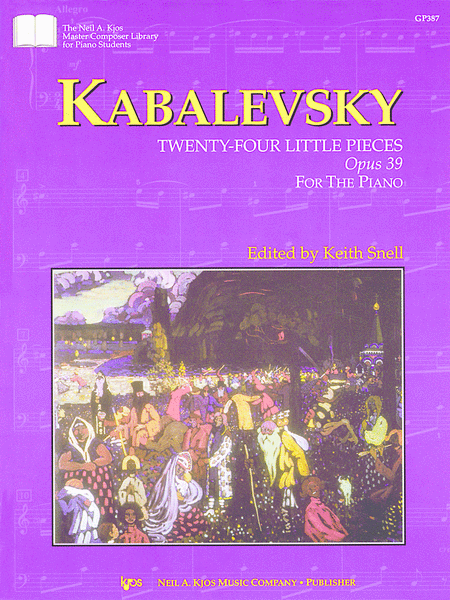 Kabalevsky 24 Little Pieces, Opus 39
