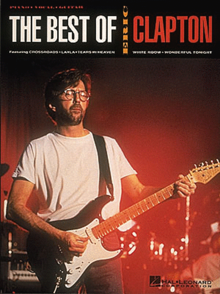 the best of eric clapton sheet music by eric clapton sheet music plus. Black Bedroom Furniture Sets. Home Design Ideas