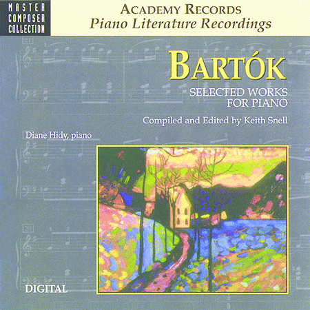 Bartok Selected Works For Piano (CD)
