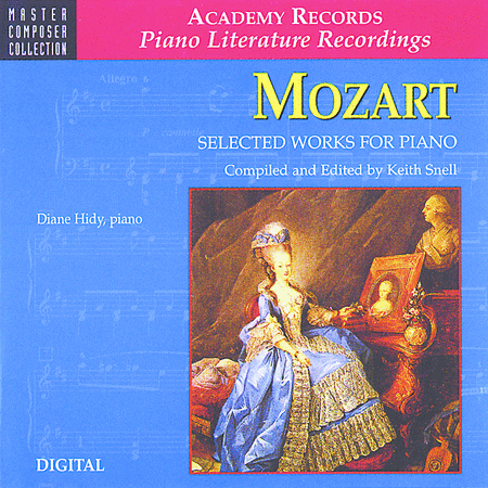 Mozart Selected Works for Piano (CD)