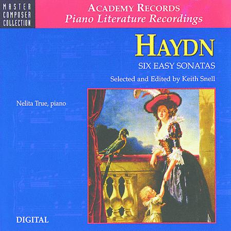 Haydn Six Easy Sonatas (CD)