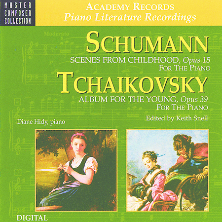 Schumann Scenes from Childhood & Tchaikovsky Album for the Young (CD)