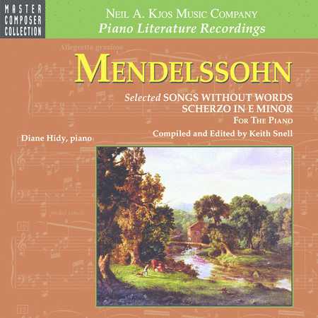Mendelssohn Selected Songs Without Words & Scherzo (CD)