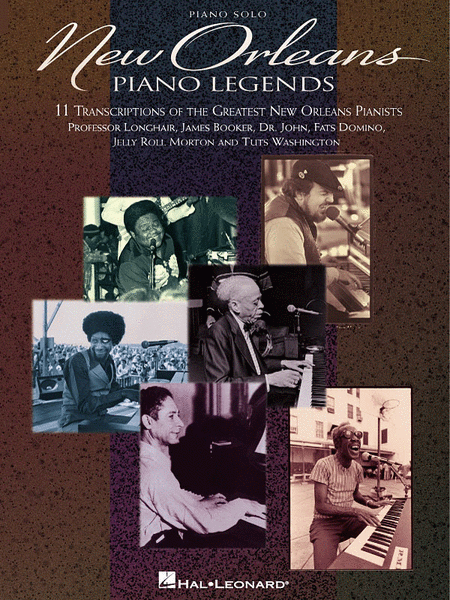 New Orleans Piano Legends - Piano Solo