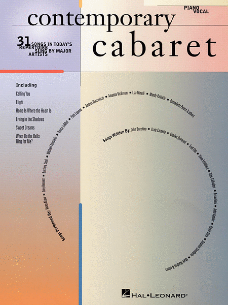 Contemporary Cabaret