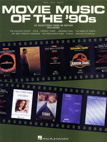 Movie Music Of The '90s