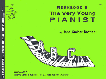 Very Young Pianist - Workbook B