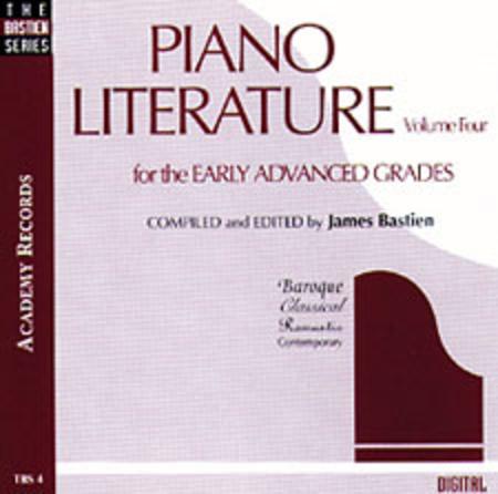 Piano Literature, Volume 4 (CD)