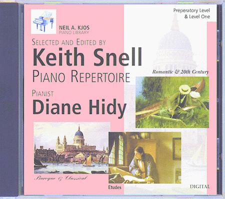 Neil A. Kjos Piano Library CD: Baroque/Classical, Romantic, Etudes, Prep & Level 1