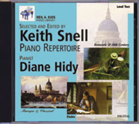 Neil A. Kjos Piano Library CD: Baroque/Classical, Romantic, Etudes, Prep & Level 2
