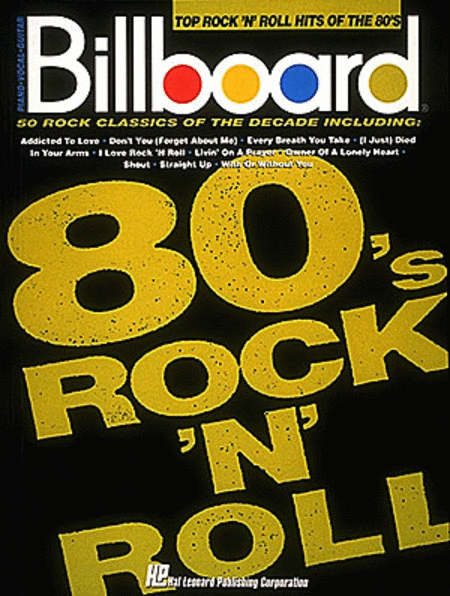 Billboard Top Rock 'n' Roll Hits Of The 80's