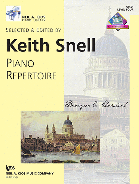 Piano Repertoire: Baroque/Classical Level 4