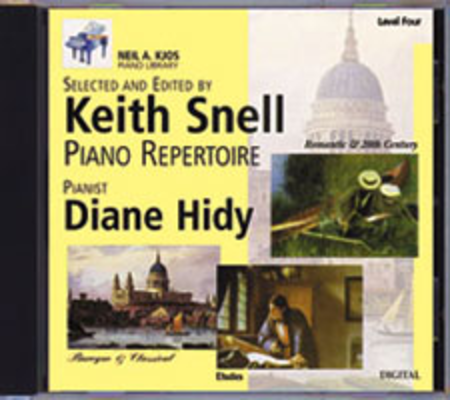 Neil A. Kjos Piano Library CD: Baroque/Classical, Romantic, Etudes, Prep & Level 4