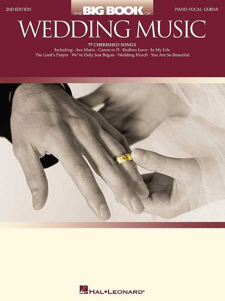 The Big Book of Wedding Music - 2nd Edition