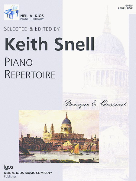 Piano Repertoire: Baroque/Classical Level 5