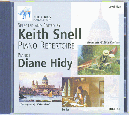 Neil A. Kjos Piano Library CD: Baroque/Classical, Romantic, Etudes, Prep & Level 5