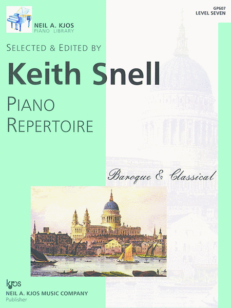 Piano Repertoire: Baroque/Classical Level 7