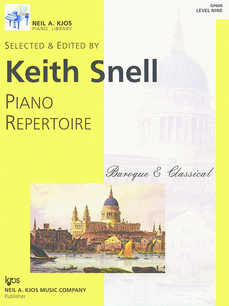 Piano Repertoire: Baroque/Classical Level 9