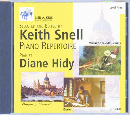 Neil A. Kjos Piano Library CD: Baroque/Classical, Romantic, Etudes, Prep & Level 9