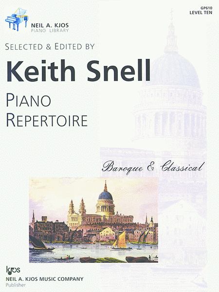 Piano Repertoire: Baroque/Classical Level 10