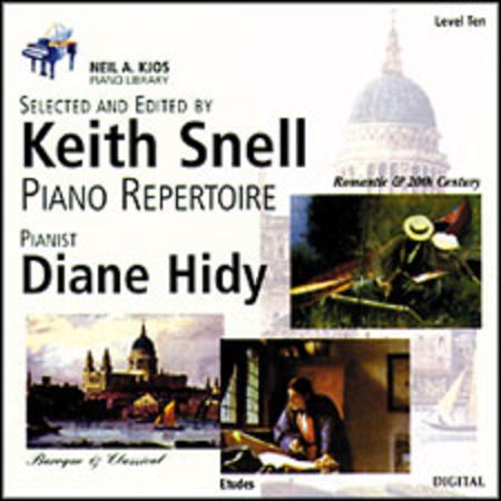 Neil A. Kjos Piano Library CD: Baroque/Classical, Romantic, Etudes, Prep & Level 10