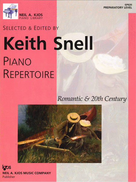 Piano Repertoire: Romantic & 20th Century - Preparatory Level