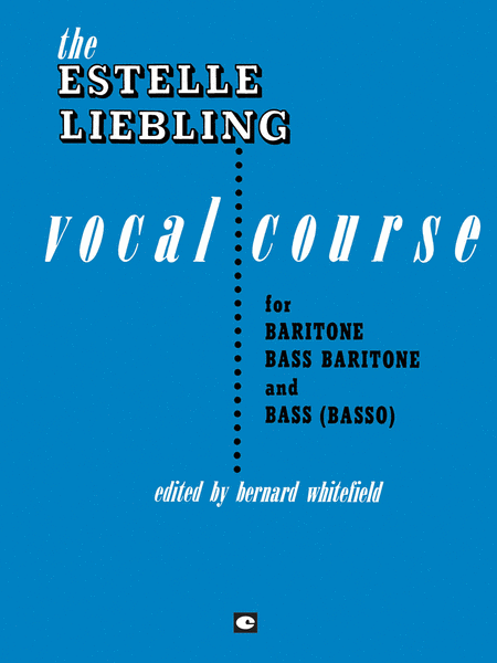 The Estelle Liebling Vocal Course