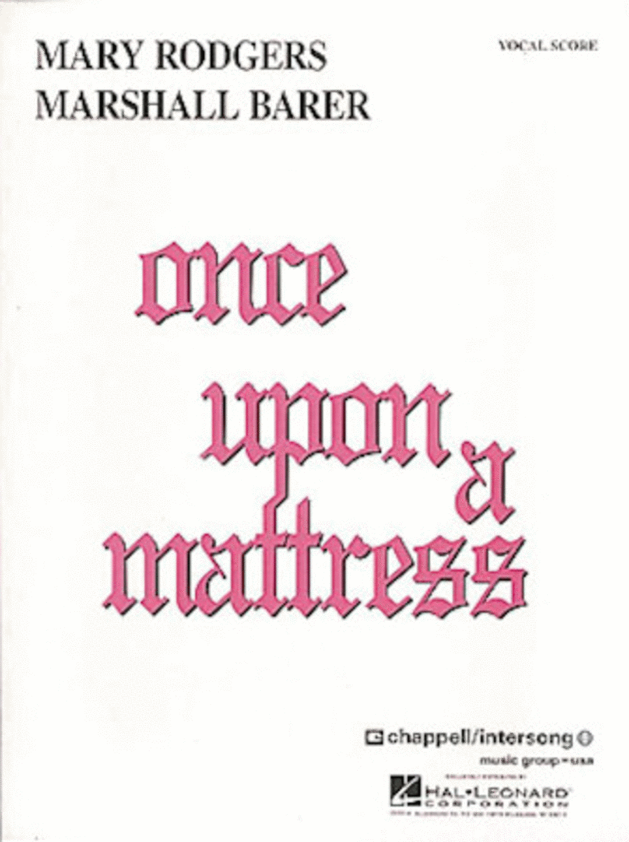 Once Upon A Mattress - Vocal Score