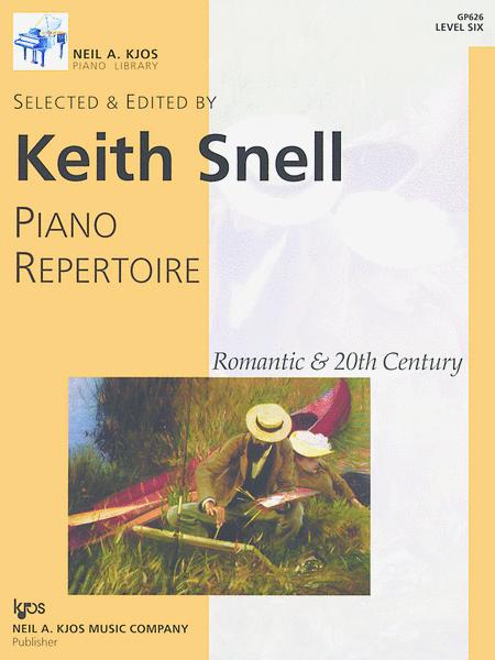 Piano Repertoire: Romantic & 20th Century, Level 6