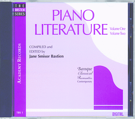 Piano Literature, Volume 1 & 2 (CD)