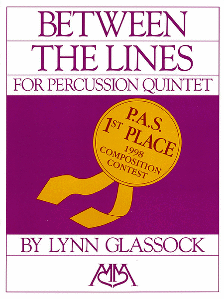 Between the Lines for Percussion Quintet