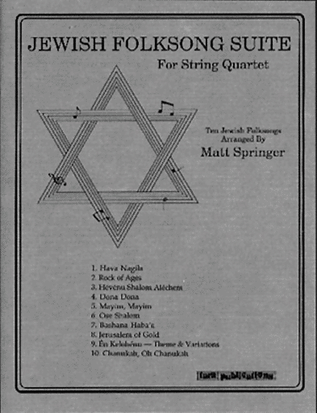 Jewish Folksong Suite
