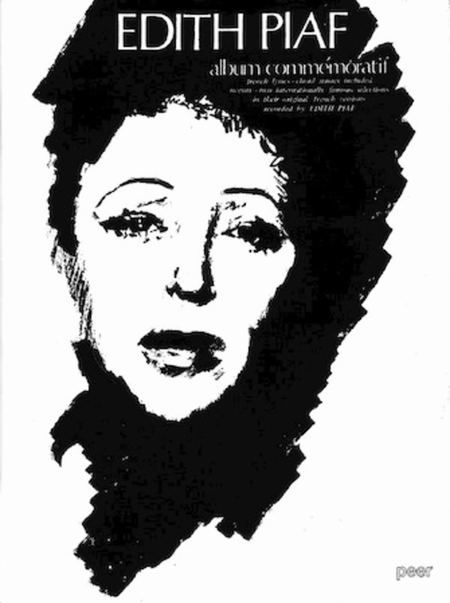 Edith Piaf Album Commemoratif