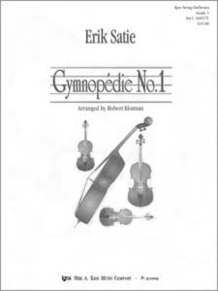 Gymnopedie No. 1 - Score