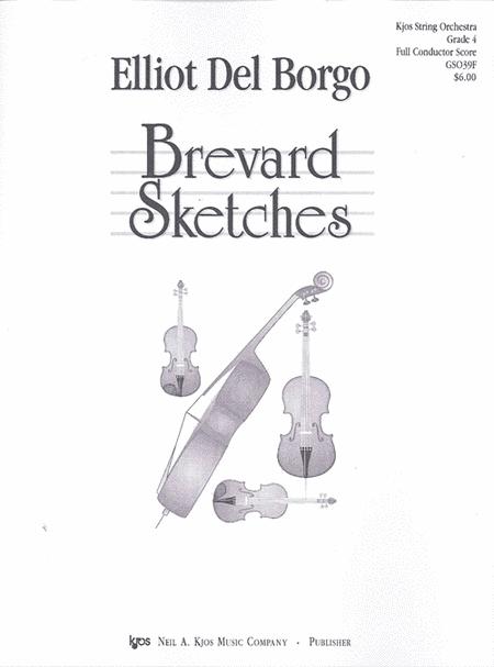 Brevard Sketches - Score