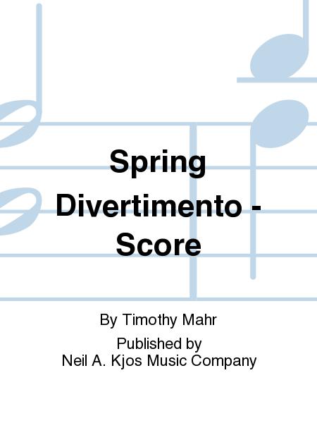Spring Divertimento - Score