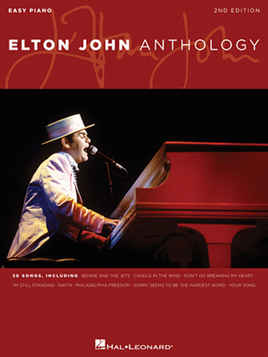 Elton John Anthology, 2nd edition - Easy Piano