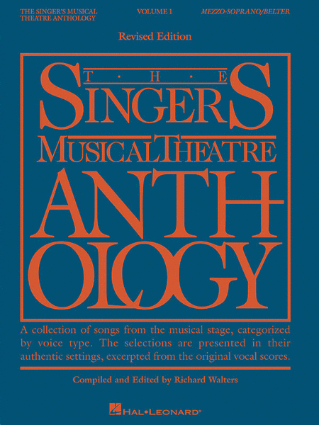 The Singer's Musical Theatre Anthology - Volume 1, Revised - Mezzo Soprano