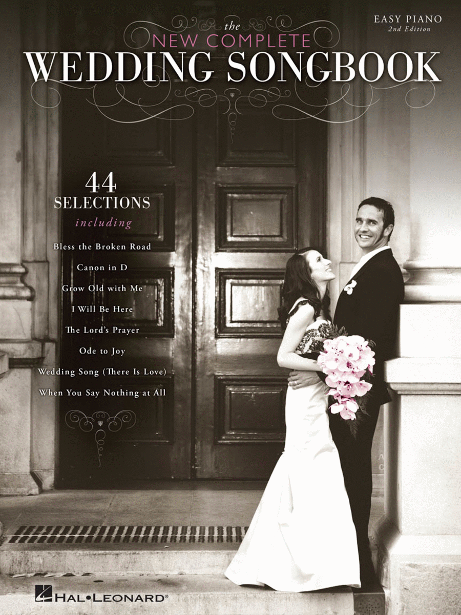 The New Complete Wedding Songbook - Easy Piano