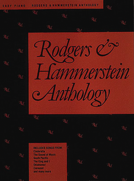 Rodgers & Hammerstein Anthology - Easy Piano