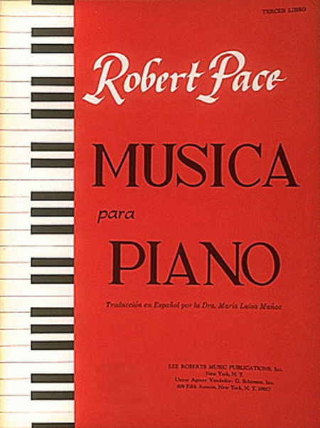 Musica Para Piano Tercer  Libro Spanish Book III