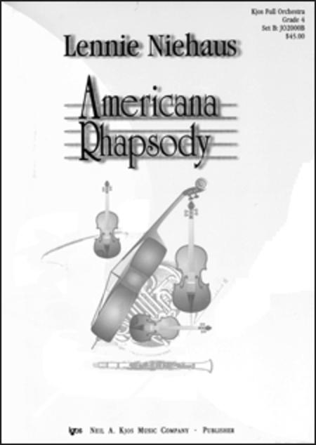 Americana Rhapsody - Score
